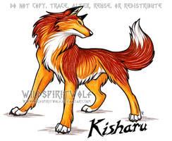 Kisharu Wolf Commission by WildSpiritWolf