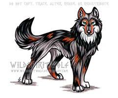 K.C. Wolf by WildSpiritWolf