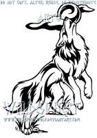 Find Your Voice Wolf Tattoo