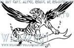 A Fire Inside - Tiger Tattoo