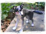 Shaman Wolf Sculpture Commish