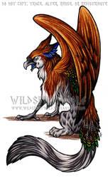 Nathalia Gryphon Commission by WildSpiritWolf