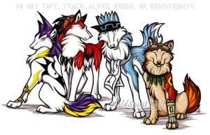 Shaman King Character Commish by WildSpiritWolf