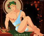 Dionysus Greek God gay male art bara hot guy