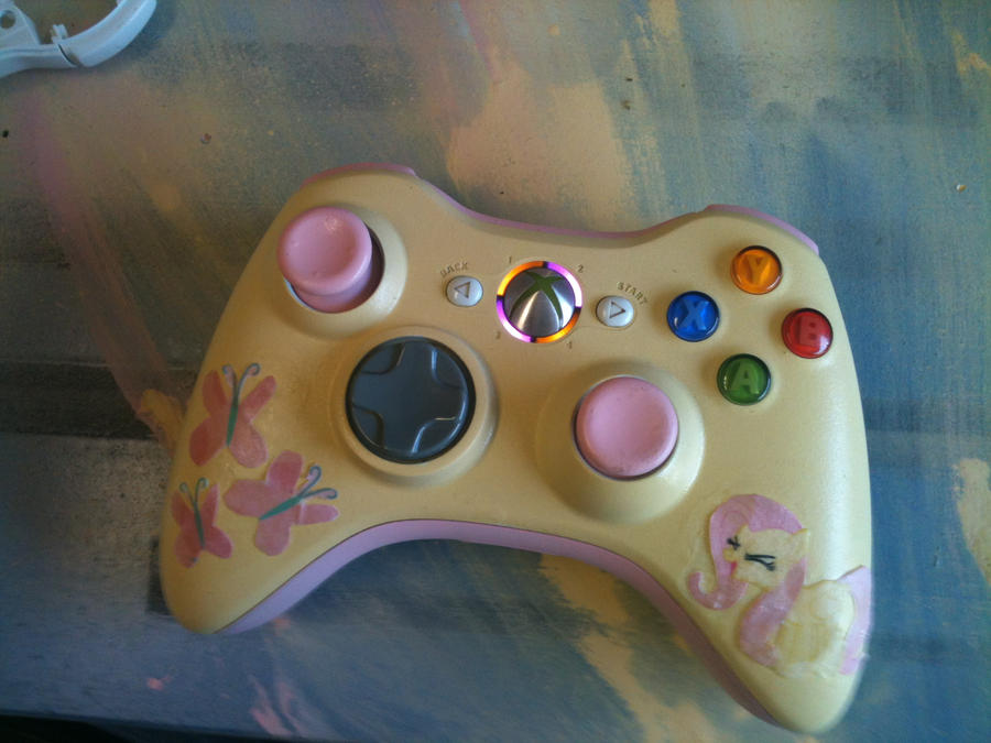 Custom Painted Xbox  Console
