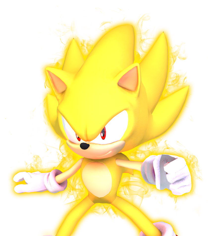 Super Sonic  Sonic X Pose by alsyouri2001 on DeviantArt