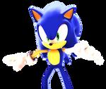 Sonic Adventure DX Pose Render
