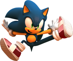 Sonic - Project Sonic 2017 Render 2 by TBSF-YT