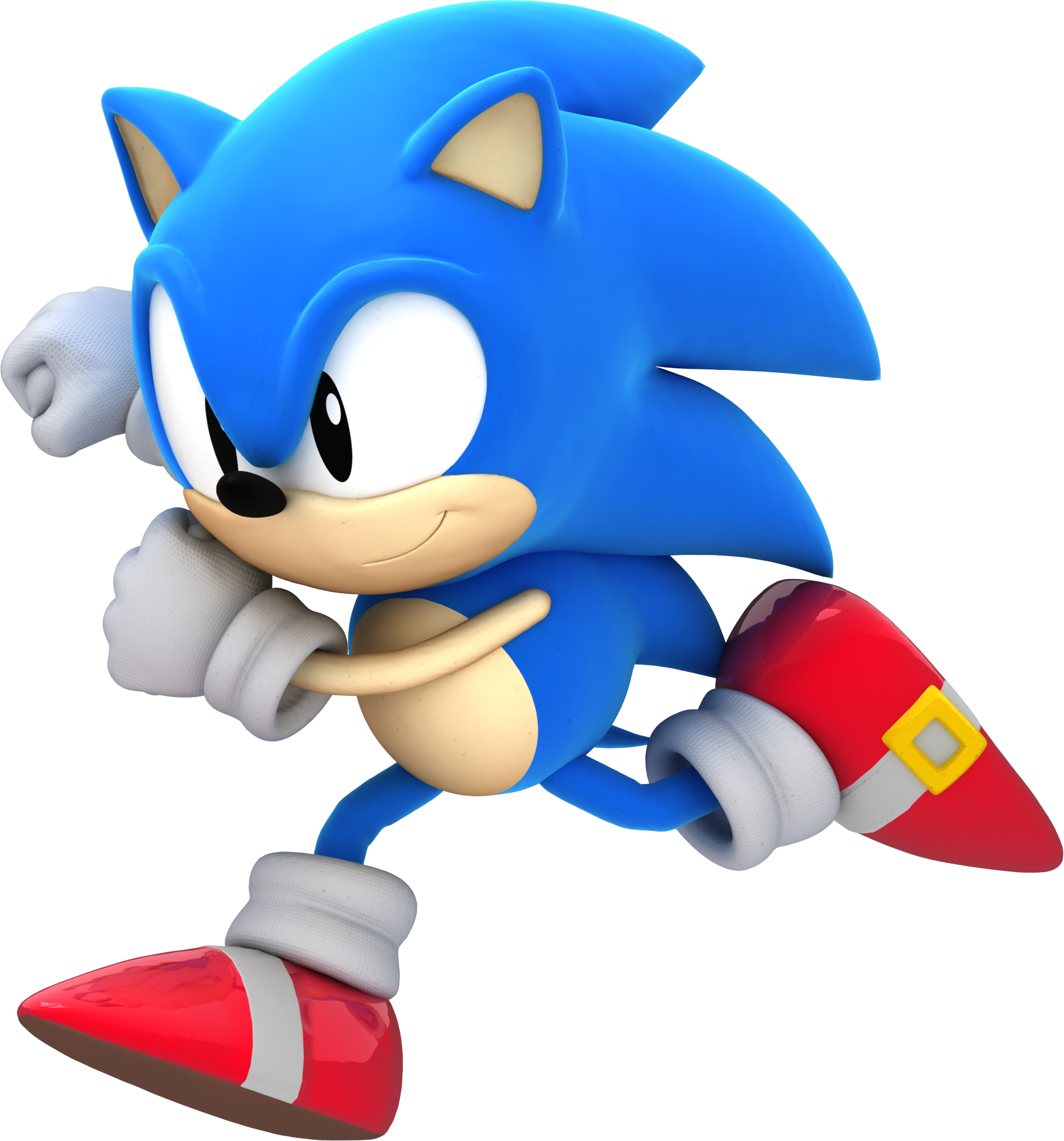 Another Classic Sonic Render By Alsyouri2001 On DeviantArt