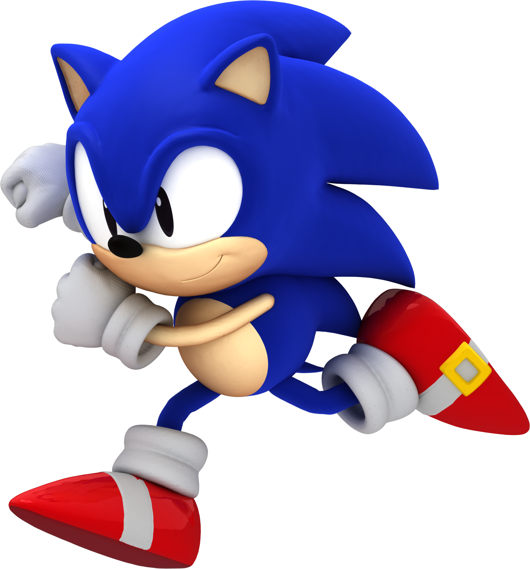 Another Classic Sonic Render 1.1 By Alsyouri2001 On DeviantArt