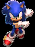 Sonic Forces - Boxart Modern Sonic Render