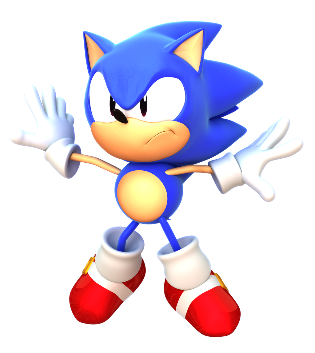 Sonic CD Opening Render By Alsyouri2001 On DeviantArt