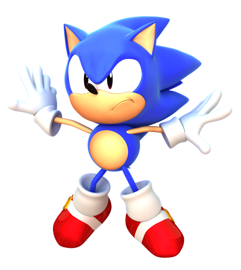 Sonic CD Opening Render By TBSF-YT On DeviantArt