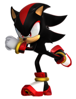 Sonic Forces - Shadow Running Render by TBSF-YT