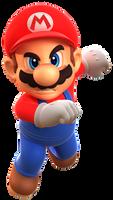Mario Forces 3D Render (Transparent)