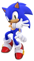 Sonic Advance 3 Sonic Render