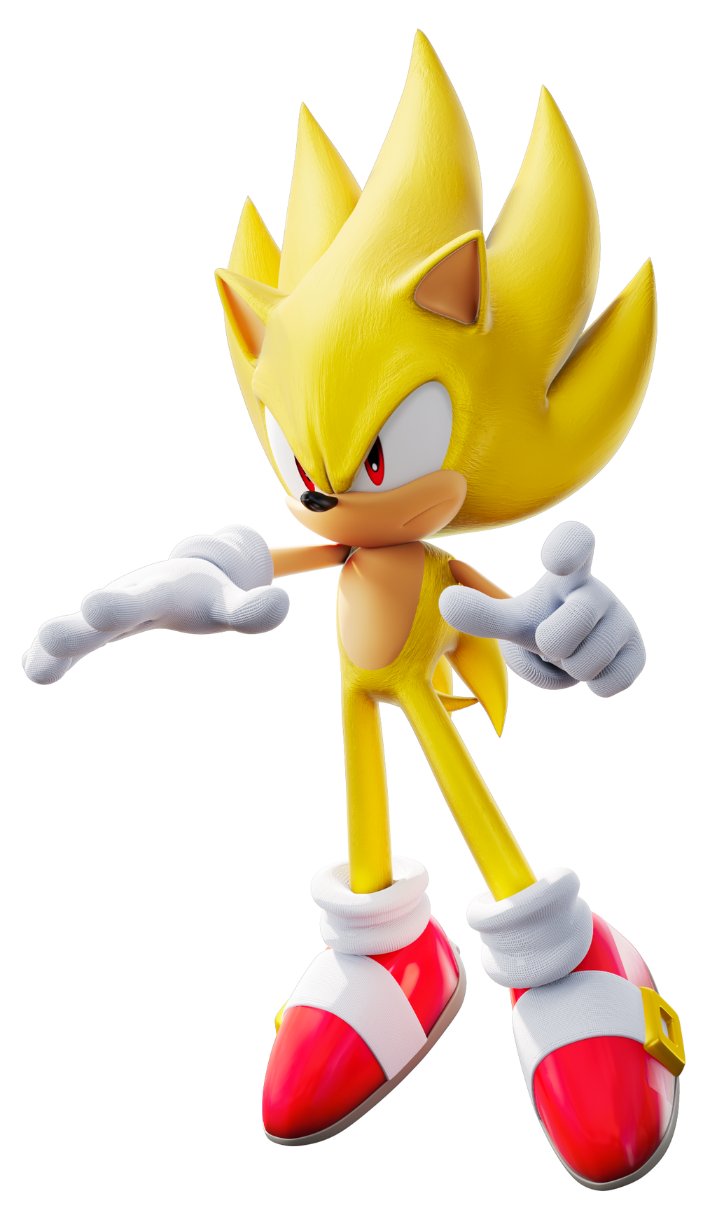 Super Sonic Style No Aura By Tbsf Yt On Deviantart