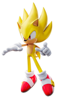 Super Sonic Style! (No Aura) by TBSF-YT