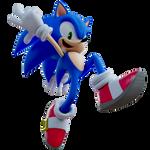 Sonic Heroes sonic render