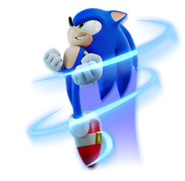 Another sonic render by TBSF-YT