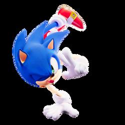 Sonic Render Shira Pose