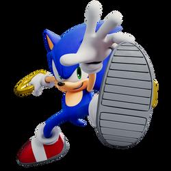 Sonic Render Demx Pose