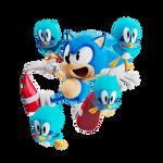 29th Anniversary Collab - Classic Sonic