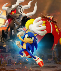 Join the uprising - Sonic Forces Poster