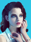 Girl-Blue