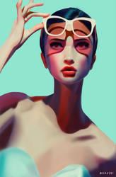 Glasses by Murashi-Art
