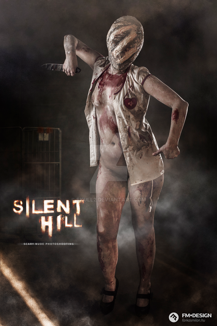 Silent Hill Scary Nude Photoshooting 03 by Skull2
