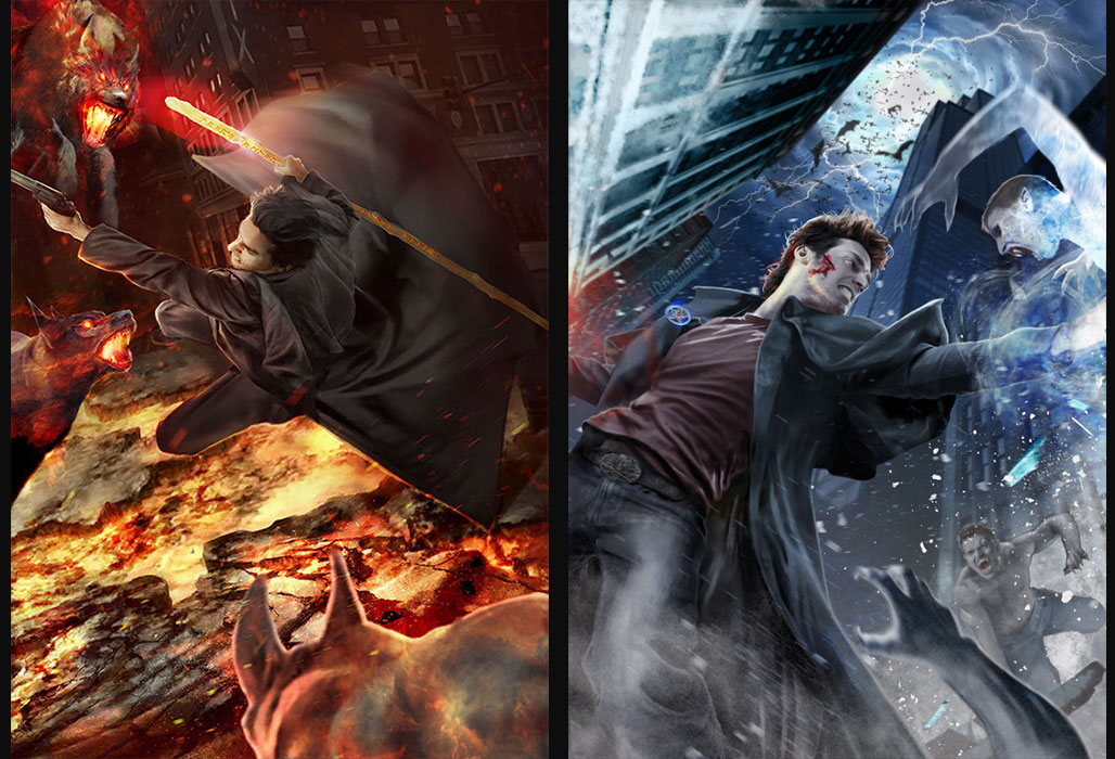 Harry Dresden / The Dresden Files by Mika-Blackfield
