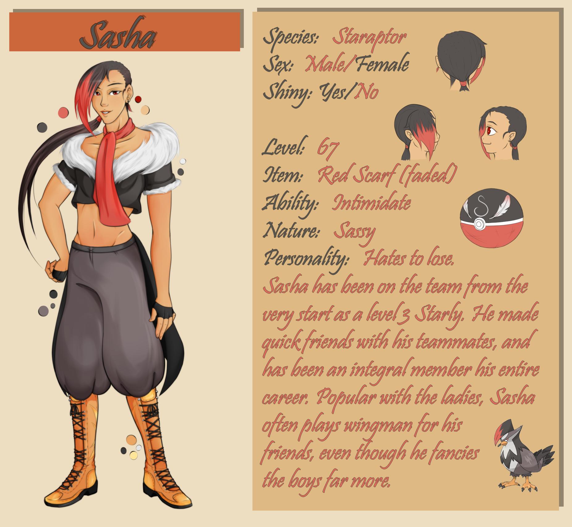 Sasha Bio/Ref