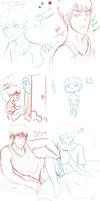 KnB Spring Cleaning sketches