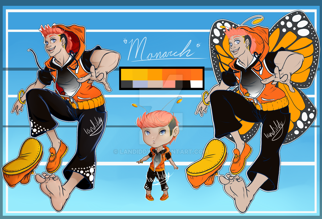 Butterfly Adopt #1 Monarch [SET PRICE] by landiddy