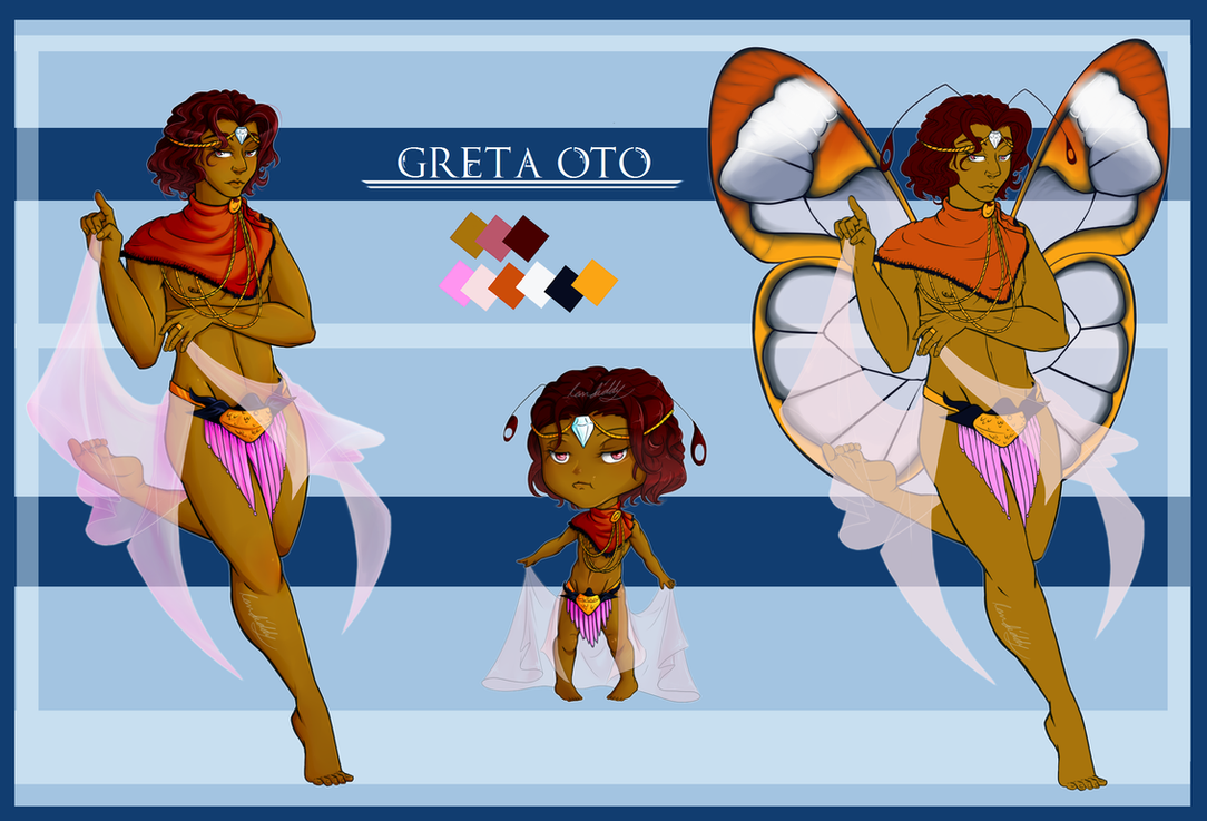 Butterfly Adopt #2 Greta Oto [OPEN] by landiddy