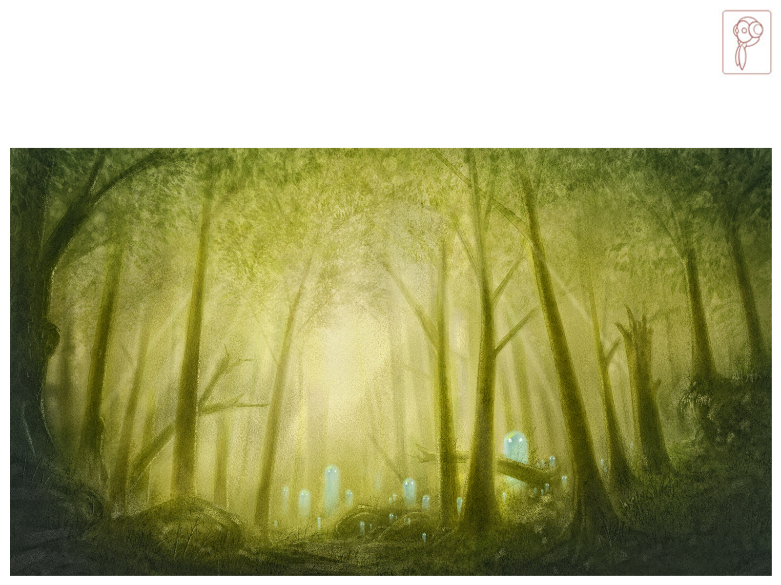 Forrest Ghosts by Papierpilot