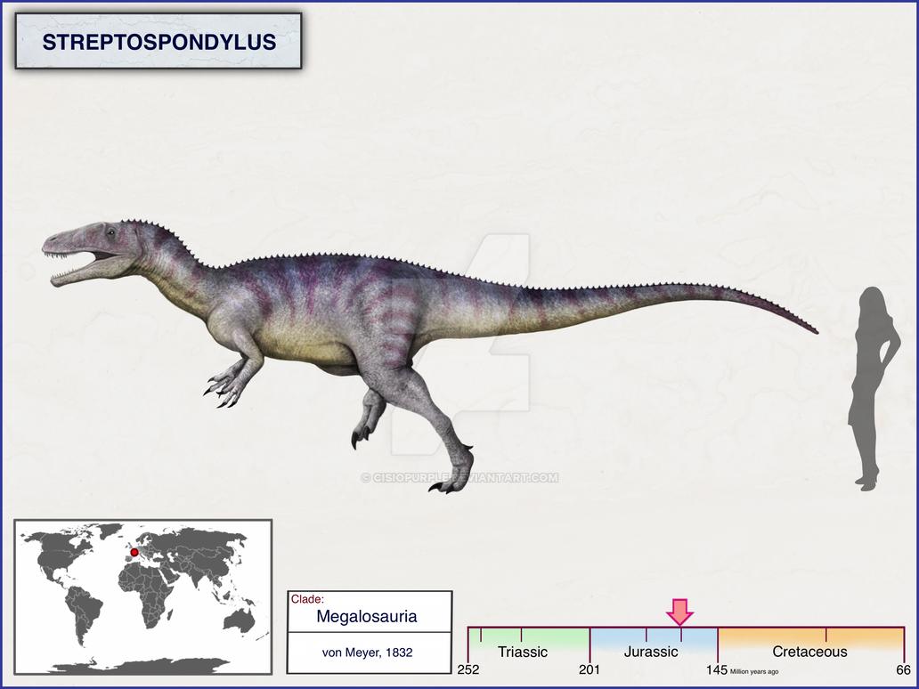 Streptospondylus by cisiopurple