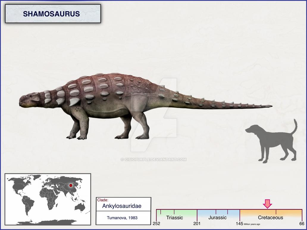 Shamosaurus by cisiopurple