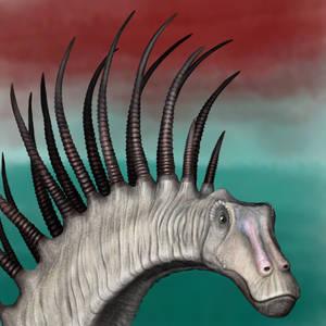 Bajadasaurus portrait