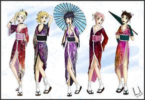 Naruto Geisha Girls