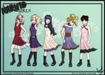 Naruto girls Spring Wallapaper