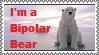 Bipolar Bear Stamp by dizzykat28560