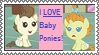 Stamps: I LOVE Baby Ponies by dizzykat28560