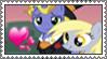 Stamp: PonetXDerpy by dizzykat28560