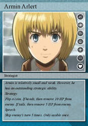 Armin's Trading Card