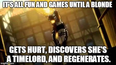 Annie Timelord Meme