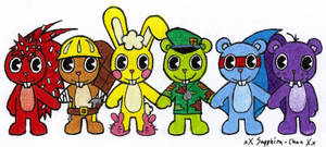 Happy Tree Friends +rainbow+