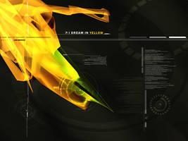 I dream in yellow by webdiod