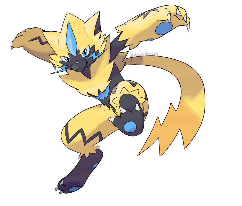 Zeraora By Jellojolteon2000 On Deviantart